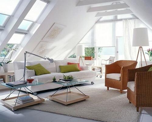 Bạn có thể lắp đặt những ô cửa sổ lớn để biến căn phòng này thành nơi đón nắng gió tuyệt vời.
