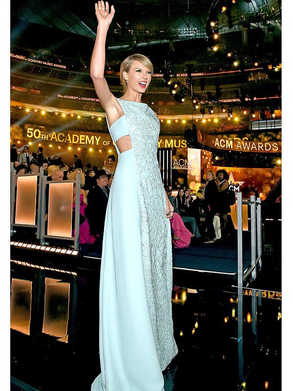 Giải thưởng âm nhạc thường niên ACM Awards lần thứ 50 đã diễn ra tại Texas với sự góp mặt của những ngôi sao hàng đầu trong làng âm nhạc đồng quê, trong đó có Taylor Swift