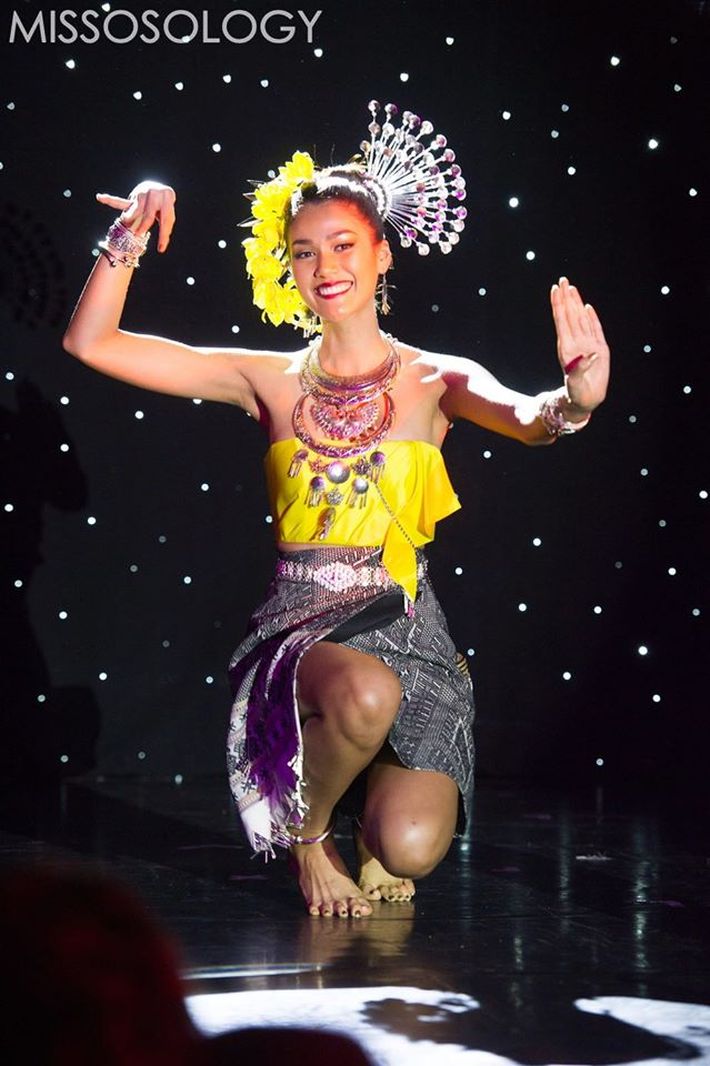 Hoa hậu Thái Lan là một trong những đại diện châu Á được đánh giá cao tại cuộc thi năm nay