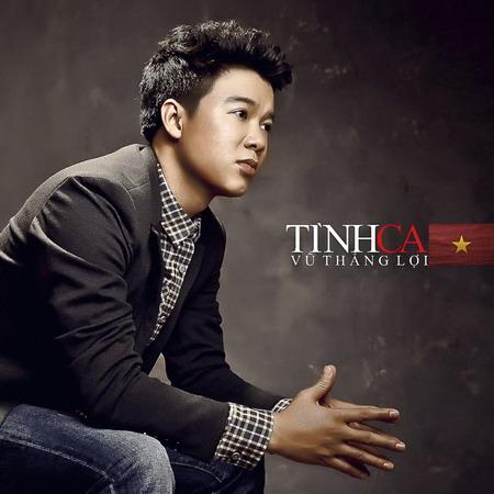 Ảnh bìa album Tình ca của Vũ Thắng Lợi