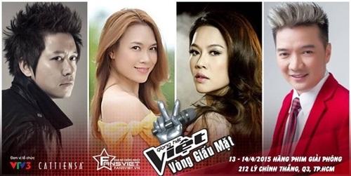 Hình ảnh poster quảng bá của Giọng hát Việt 2015