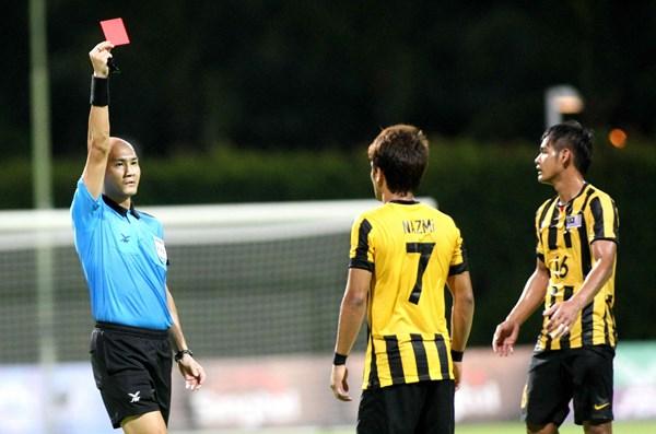 U23 Malaysia mất đi linh hồn khu trung tuyến Nazmi Faiz (Ảnh: thanhnien.com.vn)