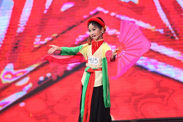 Đức Vĩnh dự thi Vietnams Got Talent với vai Thị Mầu.