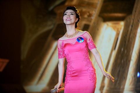 Phần thi tự tin và chuyên nghiệp của Nguyễn Bảo Yến.