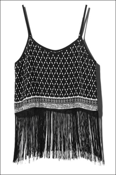 Áo hai dây để kết hợp với quần short và váy cũng phổ biến trong phong cách Hè năm nay.