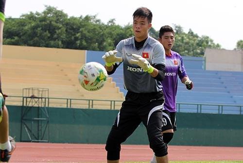 Đặng Ngọc Tuấn là thủ môn thứ 2 chia tay ĐT Olympic Việt Nam sau Văn Tiến