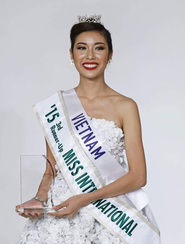 Thúy Vân là người đẹp Việt Nam đầu tiên đạt danh hiệu cao tại một cuộc thi sắc đẹp quốc tế