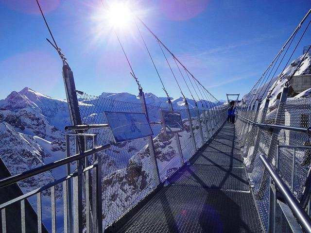 Cầu treo Titlis Cliff Walk, Thụy Sĩ