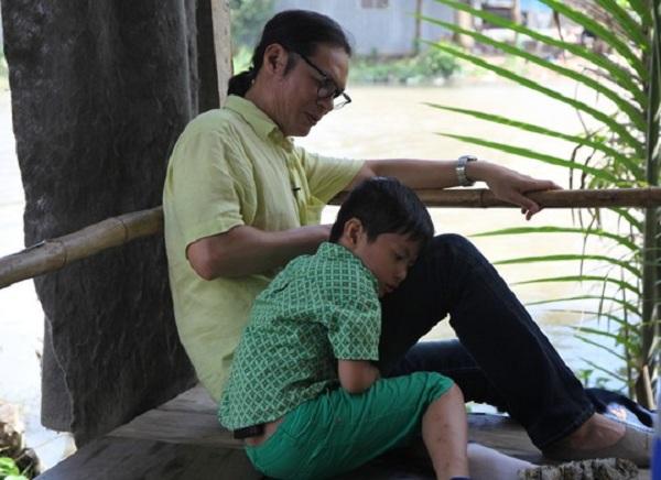 Cặp bố con Trần Lực - bé Bờm để lại ấn tượng rất sâu sắc và được nhiều khán giả yêu mến.