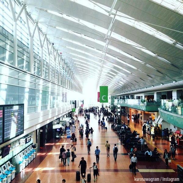 3. Sân bay quốc tế Haneda Tokyo, Nhật Bản.