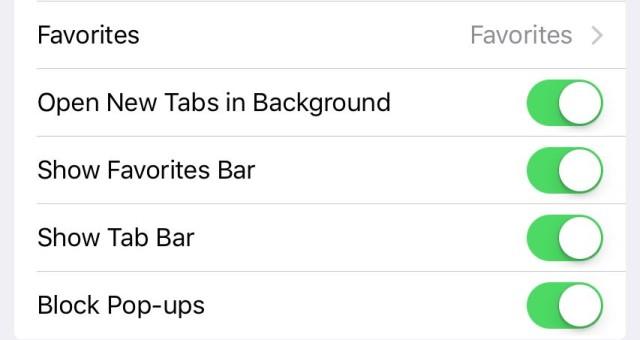 Bổ sung thêm 2 tùy chọn mới trong Safari