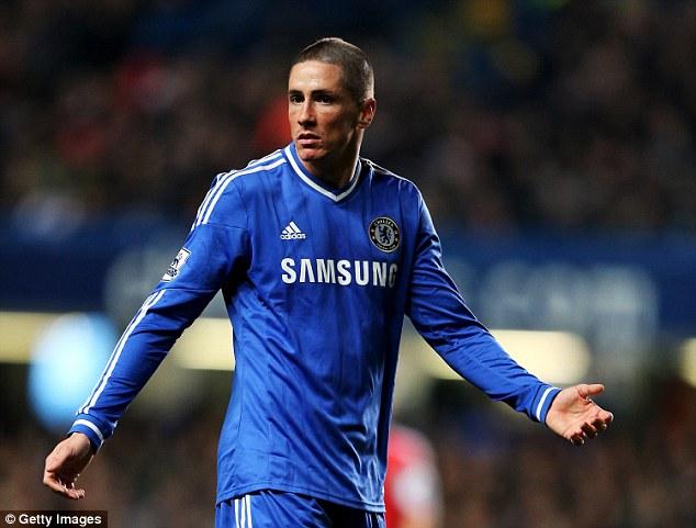 Tài năng của Torres bị chôn vui ở Chelsea và khiến The Blues lỗ nặng.