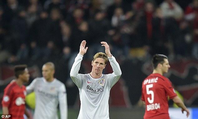 Sau 10 tháng trở lại đấu trường Champions League trong màu áo đội bóng cũ, Torres chưa được hưởng niềm vui.