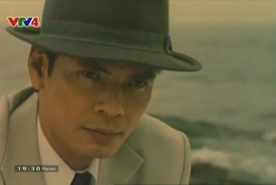 NSƯT Trần Lực trong bộ phim Nguyễn Ái Quốc ở Hong Kong.