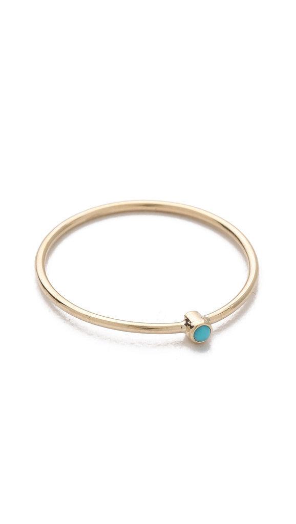 Nhẫn có mặt ngọc lam là thiết kế mới của Jennifer Meyer