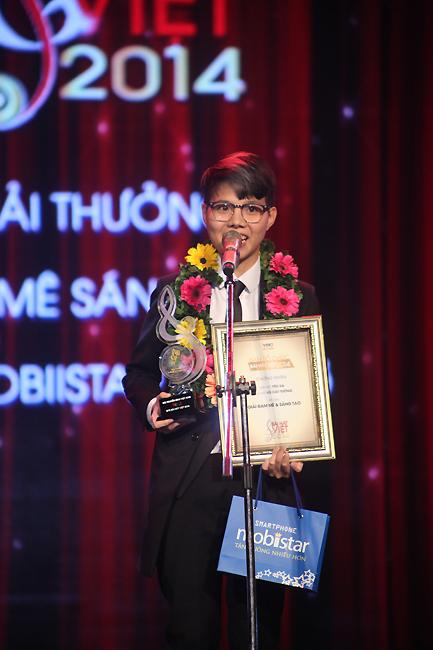 Vũ Cát Tường đã có một chiến thắng đậm đà tại Bài hát Việt 2014.