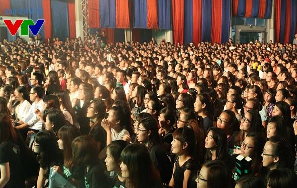 Chương trình Closeup FA Escape đã thu hút hàng nghìn bạn trẻ tham gia.