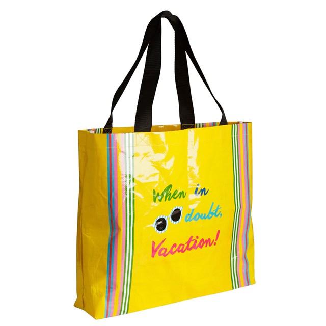 Túi slogan màu vàng của H&M