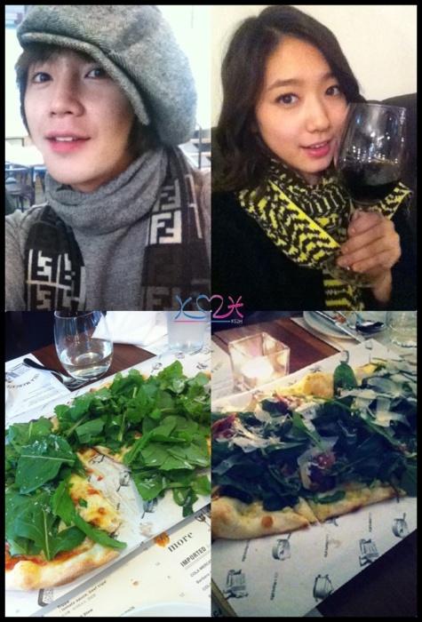 Nhiều người hâm mộ đã thu thập bằng chứng hẹn hò của Park Shin Hye và Jang Geun Suk