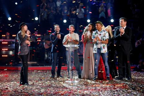 Sawyer Fredericks trình bày ca khúc Please ngay sau khi đăng quang The Voice Mỹ mùa 8.