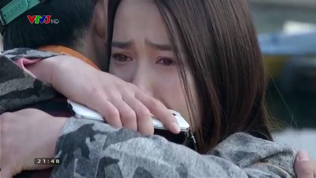 Linh hay khóc trong phim nên Huyền thường xuyên phải khóc theo.