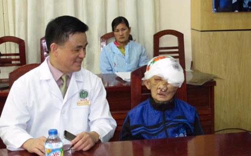 Bà Chài sau ca phẫu thuật.