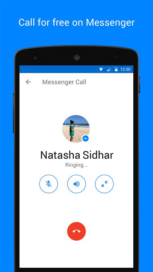 Gọi điện miễn phí thông qua Messenger