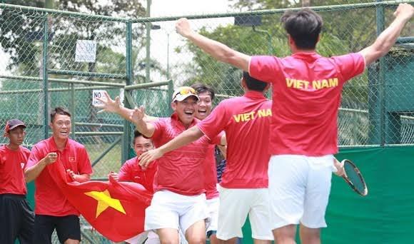 Hoàng Nam góp công lớn giúp ĐT Davis Cup Việt Nam thăng hạng lên nhóm 2 khu vực châu Á TBD