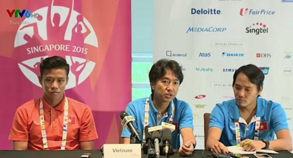 HLV Miura tự tin trước trận bán kết gặp U23 Myanmar