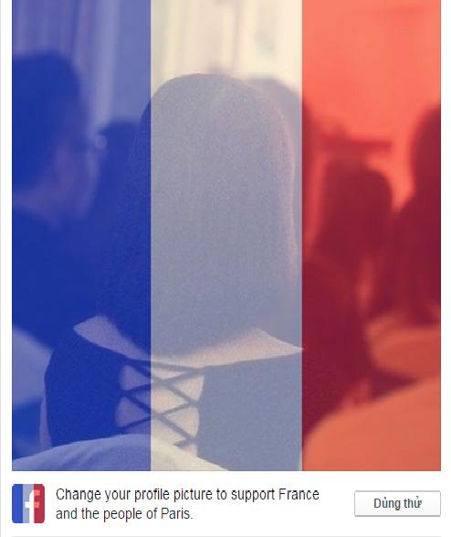 Facebook đang giúp người dùng chia sẻ cảm xúc, sự động viên trước những tổn thất nặng nề của người dân nước Pháp sau vụ khủng bố đẫm máu đêm 13/11 tại Paris.