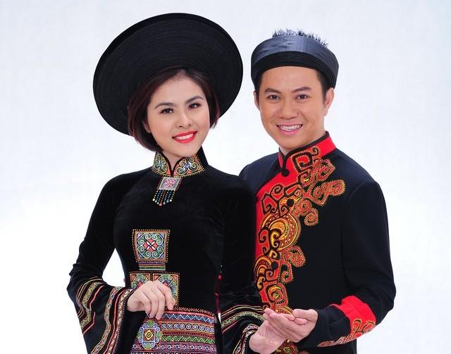 Cặp đôi Vân Trang - Quốc Đại
