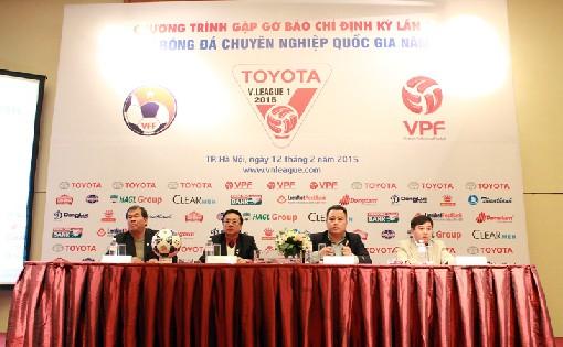 Buổi gặp gỡ báo chí định kỳ lần thứ II do VPF tổ chức đã chỉ ra những điểm tích cực cũng như tồn tại của V.League 2015 qua 7 vòng đấu.
