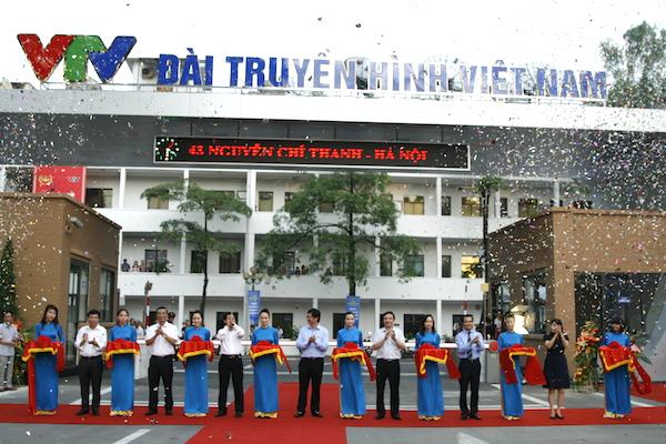 Lễ khánh thành cụm công trình Cổng -Trường quay ngoài trời khu vực 43 Nguyễn Chí Thanh