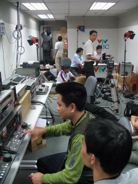 SEA Games 23 - Philippines 2005 là lần đầu tiên VTV có phòng boot tác nghiệp tại IBC.