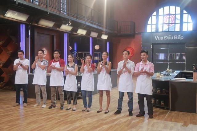 Top 8 thí sinh trong tập 9.