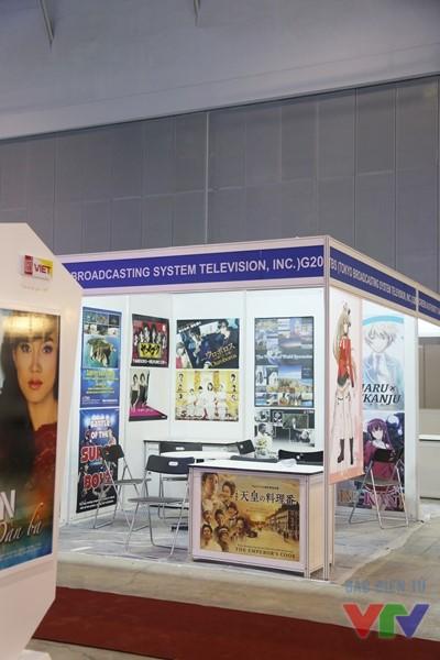 Gian hàng của Đài TBS, Nhật Bản