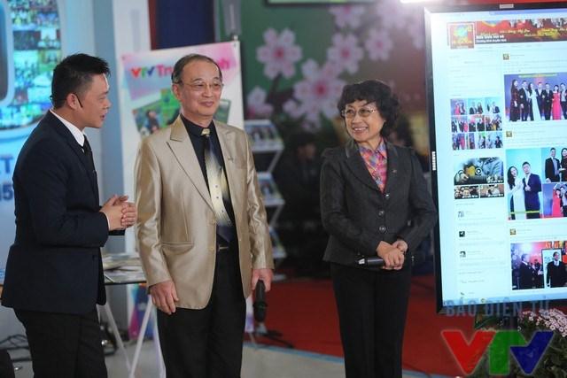 NSƯT Kim Tiến và NSƯT Thanh Hùng là hai giám khảo trong phần thử thách dành cho khách mời