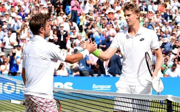 Hai tay vợt đã cống hiến cho khán giả một trận đấu hấp dẫn