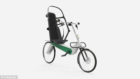 Thiết kế của chiếc xe đạp an toàn nhất thế giới