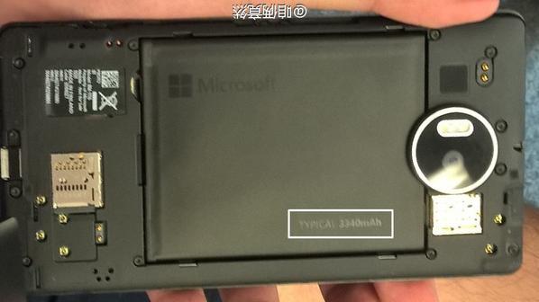 Lumia 950 XL được trang bị pin có dung lượng lên tới 3.340 mAh