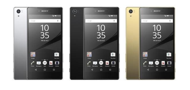 Xperia Z5 Premium có 3 phiên bản màu sắc khác nhau