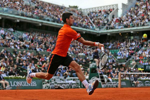 Novak Djokovic đang có phong độ hủy diệt từ đầu năm 2015.