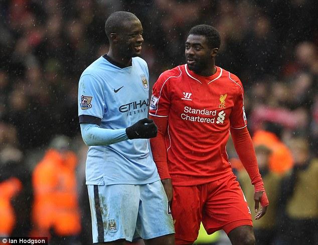 Trong trận Liverpool thắng Man City 2-1, Yaya đã không thể làm được gì giúp đội nhà và chấp nhận thua anh trai.