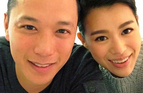 Hồ Hạnh Nhi hạnh phúc bên bạn trai mới.
