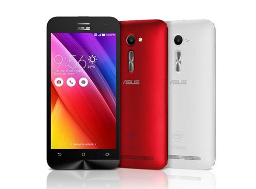 ZenFone 2 phiên bản 5 inch có 3 màu Đen Xám Than, Trắng Ngọc Trai và Đỏ Cherry