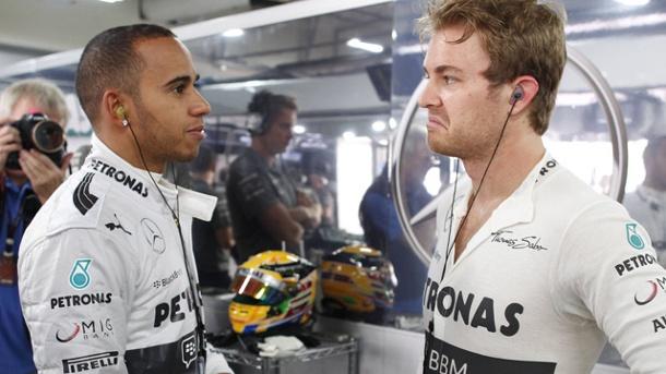 Hamilton và Rosberg chẳng ưa gì nhau đã bắt đầu từ năm 2014.
