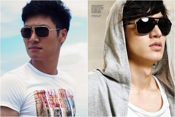 Đến cả khi đeo kính, hai mỹ nam của màn ảnh cũng có rất nhiều nét tương đồng.