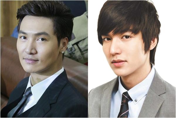 Khi mặc vest, Mạnh Trường và Lee Min Ho đều thu hút phái nữ với vẻ đẹp lịch lãm, nam tính.