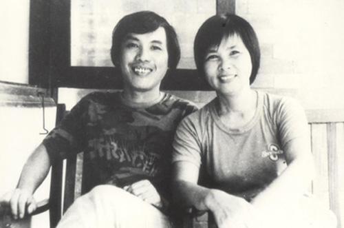 Vợ chồng nhà thơ Lưu Quang Vũ và Xuân Quỳnh