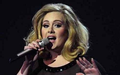 """Họa mi nước Anh"" Adele. (Nguồn: AFP)"